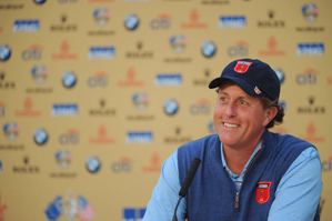 Phil Mickelson is making his eighth appearance at the Ryder Cup.