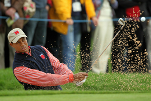 Tiger Woods hasn't played in the Ryder Cup since 2006.