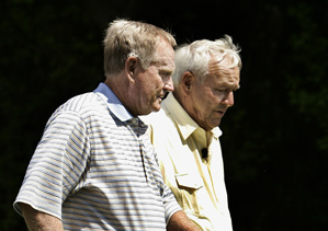 Jack Nicklaus will join Arnold Palmer next year to hit a ceremonial tee shot before the start of the Masters.