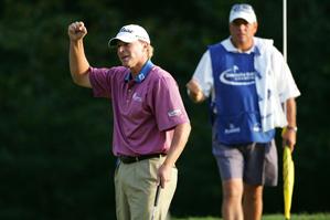 Steve Stricker shot a final-round 67 to win by one stroke.
