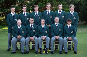 The U.S. team led by NCAA champion Jamie Lovemark and U.S. Amateur champion Colt Knost will try to retain the Walker Cup when the two-day amateur competition begins Saturday at Royal County Down.