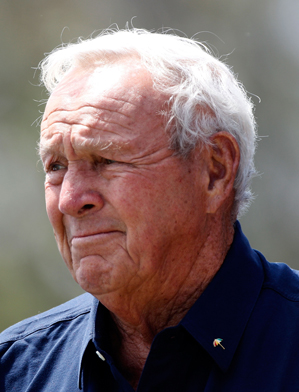 Arnold Palmer won 62 times on the PGA Tour, including seven major championships.