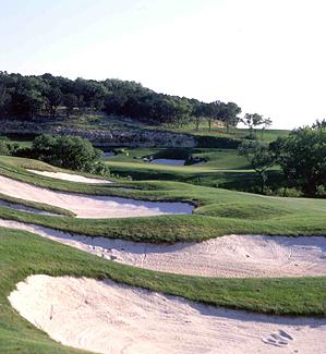 The 415-yard, par 4 12th hole at La Cantera's Resort Course.