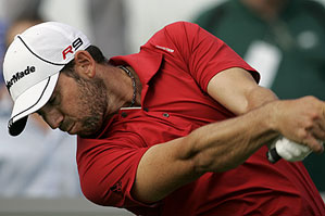 Sergio Garcia shot a six-under 65.