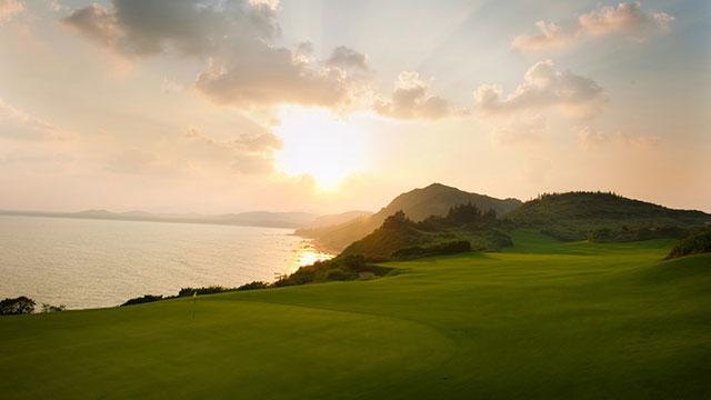 Shanqin Bay Golf Club on Hainan Island in China.