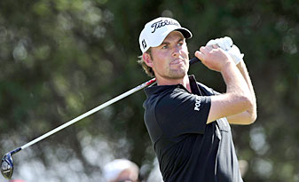 Webb Simpson is in position to win the money title after finishing second last week.