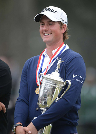 Simpson's victory at the U.S. Open was his third PGA Tour win.