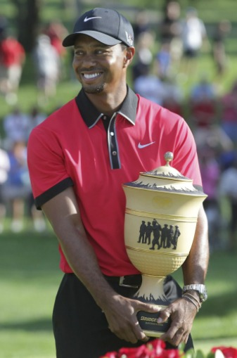 Tiger Woods hasn't won a major championship in five years.