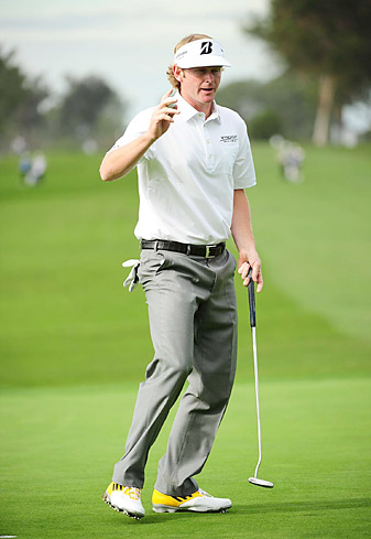 Snedeker is the defending champion at Torrey Pines.