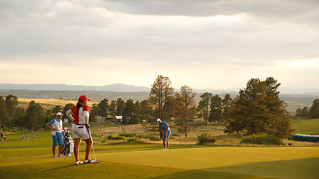 Thanks to the difficult modern design of host course Colorado Golf Club, the pace of play at the Solheim Cup was extremely slow.