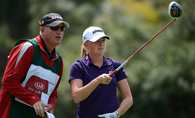 New world No.1 Stacy Lewis is looking for her third-straight win this week.