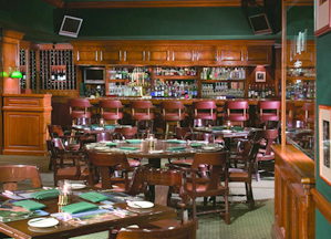 The legendary Tap Room at Pebble Beach.