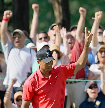 Woods was in fine form at Congressional, but how will he fare at the British Open?