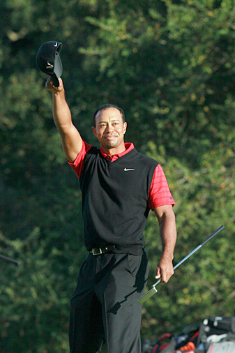 Tiger Woods has donated over $12 million of tournament earnings alone.