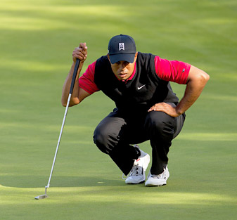 Tiger Woods showed major improvement on the greens during his win at Sherwood Country Club.