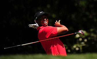 Woods carded a two-over 74 in the final round.