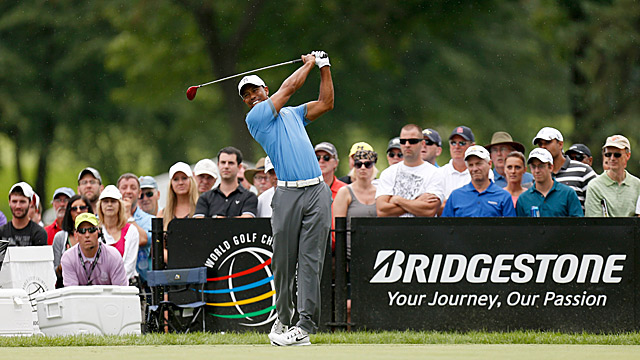 Tiger Woods is a big fan of Firestone Country Club -- he's won there seven times.