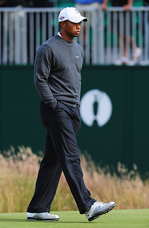 Tiger Woods has yet to win a major this year, and missed the cut at the British Open.
