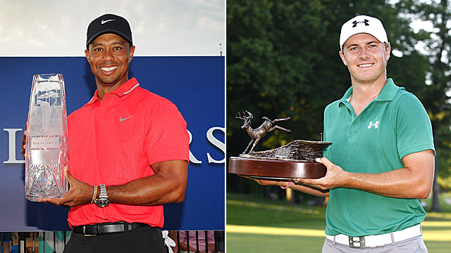 Tiger Woods won five times in 2013, including the Players, while Jordan Spieth captured his first victory at the John Deere Classic.