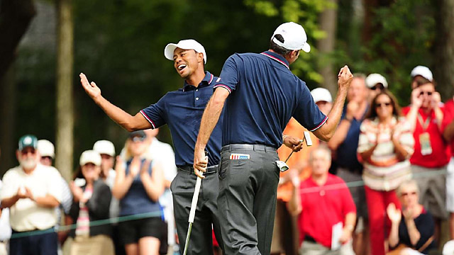 Tiger Woods and Matt Kuchar enjoyed their big win, but most of the fun stopped after that for the Americans.