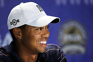 """Tiger Woods was reportedly being fined by the PGA Tour for criticizing a rules official, but Woods said on Tuesday, """"That was an erroneous report."""""""