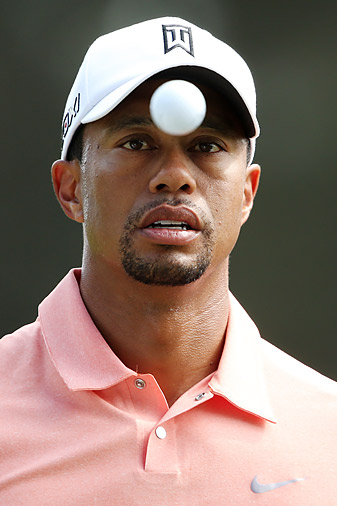 Tiger Woods last won a major at the 2008 U.S. Open at Torrey Pines.