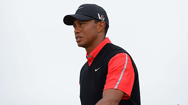Tiger Woods has not won a major since the 2008 U.S. Open.