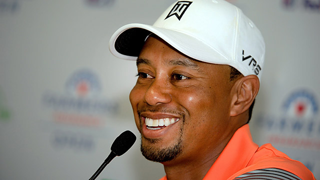 Woods' seven wins at the Farmers Insurance Open are among his nine lifetime wins at Torrey Pines.