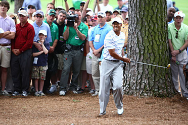 Tiger Woods always draws a crowd at Augusta National. Can tournament organizers keep the madness outside the gates?