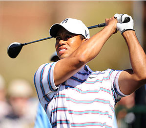 Tiger Woods lost to Tim Clark, 4 and 2.