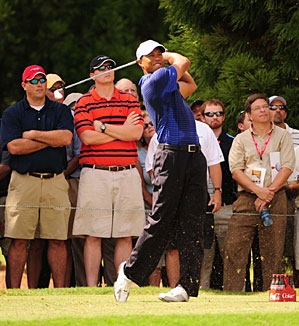 Tiger Woods is trying to win the $10 million FedEx Cup at East Lake this weekend.