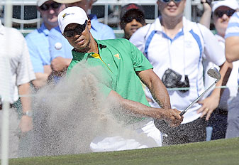 Tiger Woods is skipping the Farmers Insurance Open at Torrey Pines to play in Abu Dhabi.