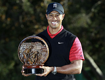 Tiger Woods won his first title since the 2009 Australian Masters.
