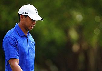Tiger Woods made five birdies and no bogeys.