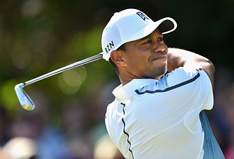 Tiger Woods shot a 3-under 69 in the opening round of the 2014 British Open. He tees off at 9:05 a.m. Eastern on Friday.