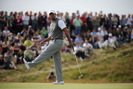 Tiger Woods has three wins in 2012, but no major titles since 2008.