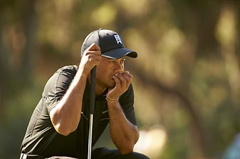 In his professional life Tiger Woods -- whose personal life was turned upside down by prying cameras -- is under constant surveillance, and he doesn't like it.
