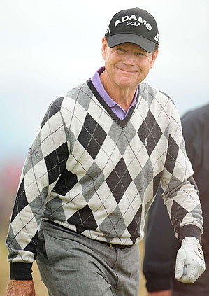 Tom Watson shot a five-under 65 in the first round.