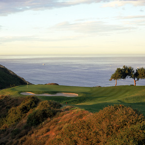 Pacific heights: The third hole at Torrey Pines.