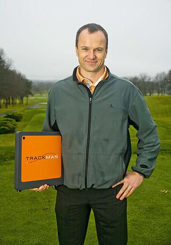 Fredrik Tuxen, inventor of Trackman.
