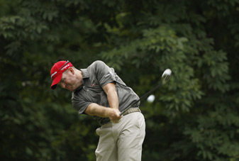 Troy Matteson made four birdies and a bogey on Friday.