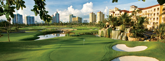 Turnberry Isle is located between the Fort Lauderdale and Miami International Airports.