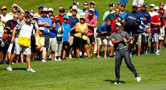 Tiger Woods continued to struggle at Sawgrass.