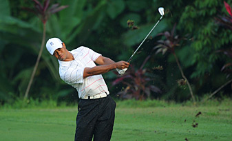 Tiger Woods is playing in Malaysia this week for the first time in 13 years.