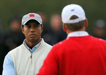 Tiger Woods is a different player than he was back in 2010 when the U.S. lost the Ryder Cup in Wales.