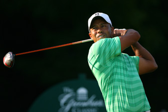 Tiger Woods missed the cut by one stroke.