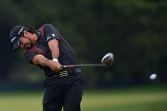 Jason Day in the final round of the 2013 U.S. Open at Merion. Day finished T2 at the U.S. Open and third at the Masters this year.