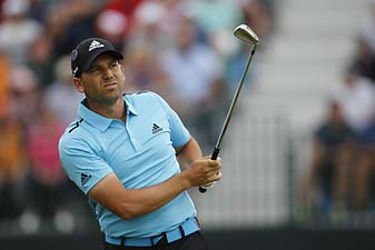 Sergio Garcia shot 66 on Sunday at the British Open but couldn't catch winner Rory McIlroy.