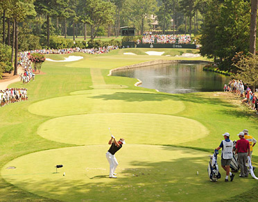 The 15th hole at AAC swallowed many players' dreams during the PGA Championship.