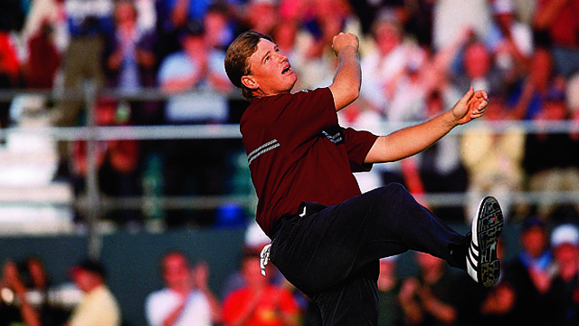 Ernie Els has a dozen top-10 finishes at the British Open, including a win at Muirfield in 2002.
